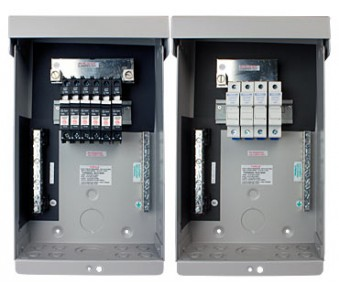MIDNITE, STRING COMBINER, MNPV-6, 6-STRING (150V BREAKERS) OR 4-STRING (FUSES), 120A OR 80A/600VDC MAX, NEMA3R