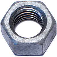Midwest 05619 Hex Nut, 5/8-11, Hot Dip Galvanized