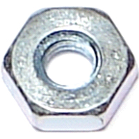 Midwest 03749 Hex Machine Nut, NO 8-32, Zinc Plated