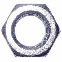 Midwest 03674 Hex Nut, 1/2-13, Zinc Plated