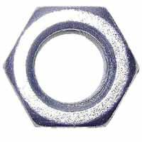Midwest 03677 Hex Nut, 3/4-10, Zinc Plated