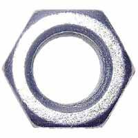 Midwest 03678 Hex Nut, 7/8-9, Zinc Plated