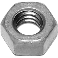 Midwest 05615 Hex Nut, 1/4-20, Hot Dip Galvanized