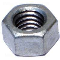 Midwest 05617 Hex Nut, 3/8-16, Hot Dip Galvanized