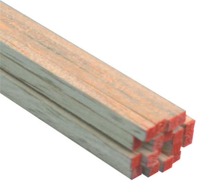 BALSA STRIP 1/8X1/8X36IN 36PK