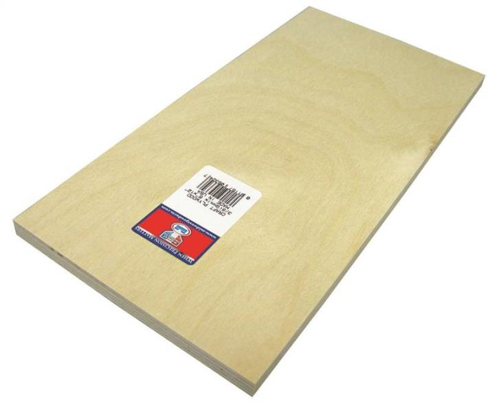 PLYWOOD CRAFT 3/8 X 6X12IN 3PK