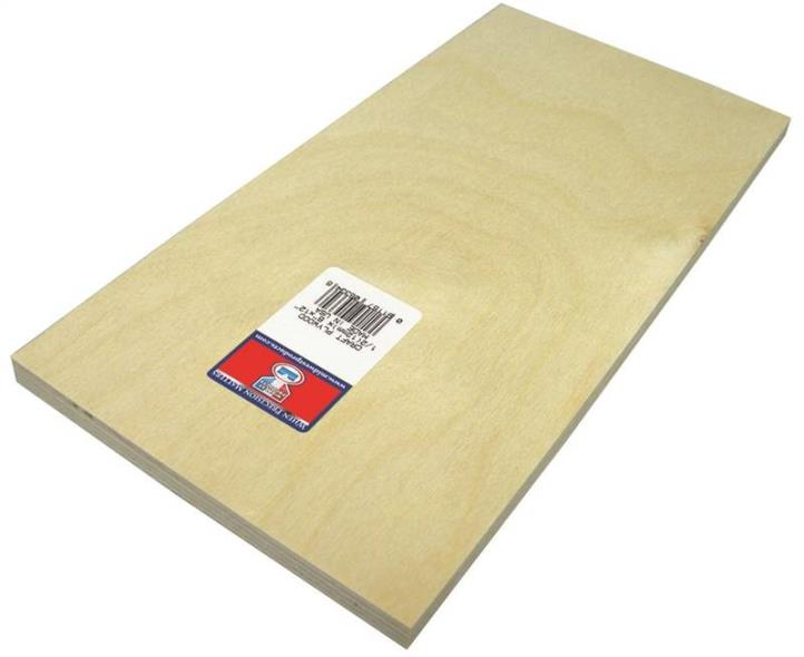 PLYWOOD CRAFT 1/2 X 6X12IN 3PK