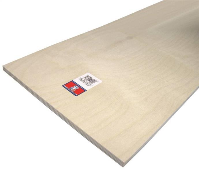 PLYWOOD CRAFT  1/2X12X24IN 3PK