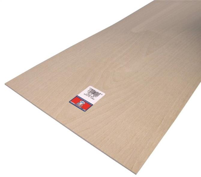PLYWOOD CRAFT 1/8 X12X24IN 6PK