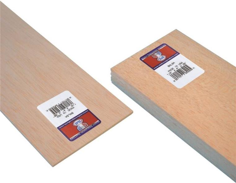 BALSA SHEET 1/8 X 4 X36IN 15PK