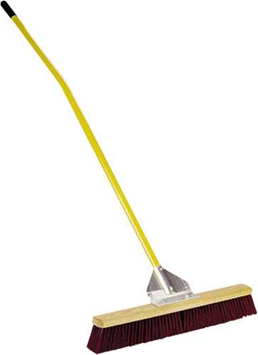 MIDWEST RAKE GENERAL PURPOSE BROOM, 36 IN. WITH 60 IN. ERGONOMIC ALUMINUM HANDLE