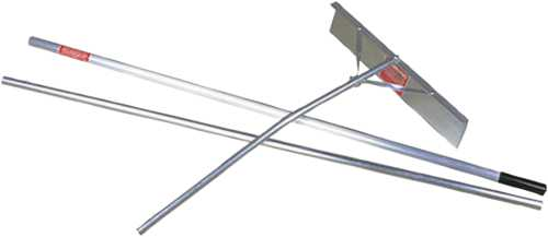 MIDWEST RAKE SNOW ROOF RAKE, 16 FT. WITH 82 IN., 3 SECTION, TELESCOPING HANDLE