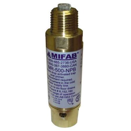 "MIFAB� M-500 PRESSURE DROP ACTIVATED TRAP SEAL PRIMER FOR UP TO 3  FLOOR DRAIN TRAPS, 1/2"" CONNECTIONS"