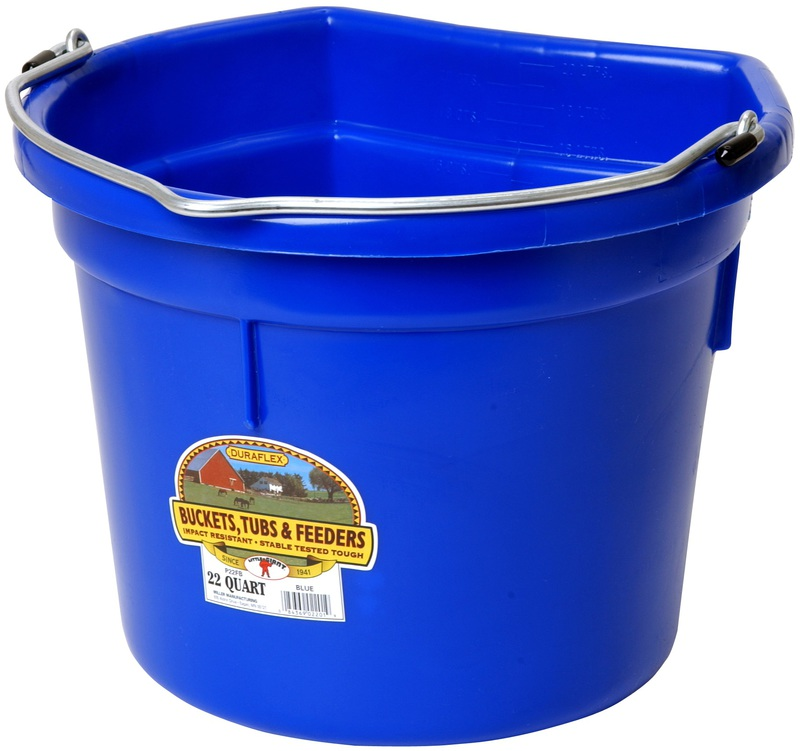 22 Quart Flat Back Bucket