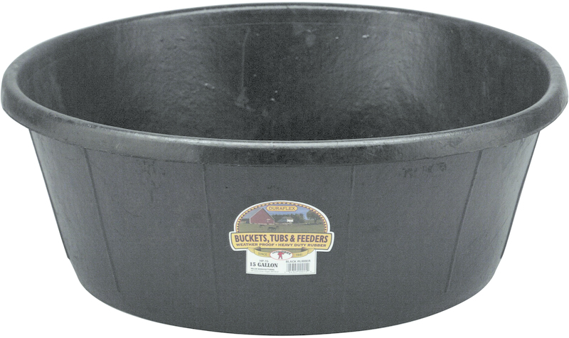 HP15 15G RUBBER HEAVY DUTY TUB