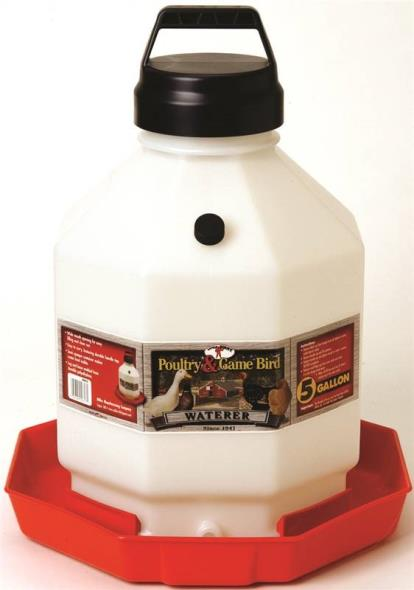 FOUNTAIN POULTRY PLASTIC 5GAL