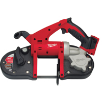 Milwaukee 2629-20 Cordless Band Saw With Light, 18 V, Lithium-Ion, 390 - 480 spm