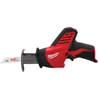 Hackzall 2420-20 Cordless Reciprocating Saw, 12 V, Lithium-Ion, 1.5 - 4 Ah, 1/2 in Stroke, 3000 spm