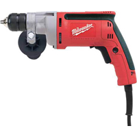 Magnum 0201-20 Heavy Duty Right Angle Corded Drill, 120 V, 7 A, 3/8 in Keyless Chuck
