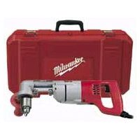 Milwaukee 3107-6 Heavy Duty Right Angle Corded Drill Kit, 120 V, 7 A, 1/2 in Keyed Chuck