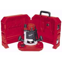 Milwaukee 5615-21 Double Insulated Corded Router Kit, 120 VAC/DC, 11 A, 1-3/4 hp