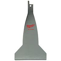 Milwaukee 49-00-5456 Resharpenable Scraper Blade, 5-1/2 in L X 3 in W