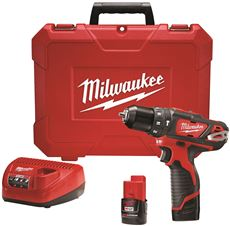 MILWAUKEE M12� 3/8 IN. HAMMER DRILL KIT