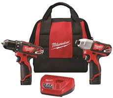 MILWAUKEE M12� COMBO DRILL AND IMPACT