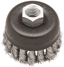 MILWAUKEE 3 IN. CRIMPED WIRE CUP BRUSH