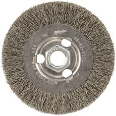 MILWAUKEE 4 IN. RADIAL CRIMPED WHEEL CARBON STEEL