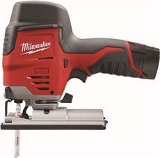 MILWAUKEE M12� CORDLESS HIGH PERFORMANCE JIG SAW KIT WITH ONE BATTERY