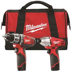 MILWAUKEE M12� CORDLESS LITHIUM-ION 2-TOOL COMBO KIT