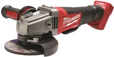 MILWAUKEE� M18 FUEL� 18-VOLT LITHIUM-ION BRUSHLESS CORDLESS GRINDER, PADDLE SWITCH, NO-LOCK, 4-1/2 IN./5 IN., BARE TOOL