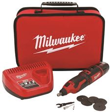 MILWAUKEE� M12� 12-VOLT LITHIUM-ION CORDLESS ROTARY TOOL KIT