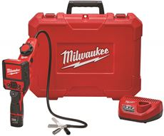 MILWAUKEE� M12� M-SPECTOR FLEX� INSPECTION CAMERA CABLE WITH PIVOTVIEW� KIT, 3 FT.
