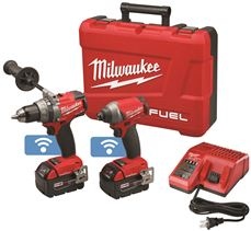 MILWAUKEE� M18 FUEL� DRILL/DRIVER AND 1/4 IN. HEX IMPACT DRIVER COMBO KIT WITH ONE-KEY�