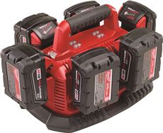 M18� SIX PACK SEQUENTIAL CHARGER