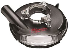 MILWAUKEE� UNIVERSAL SURFACE GRINDING DUST SHROUD, 7 IN.