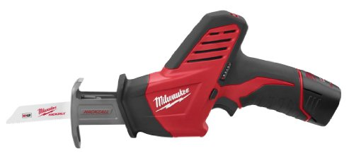 MILWAUKEE M12� HACKZALL� RECIP SAW KIT WITH ONE BATTERY