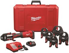 MILWAUKEE M18� FORCE LOGIC� PRESS TOOL KIT 1/2 IN. TO 2 IN.