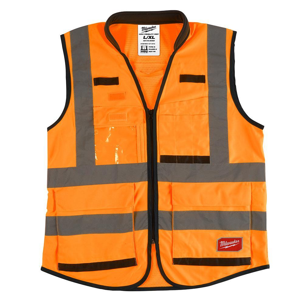 48-73-5052 L/XL O SAFETY VEST