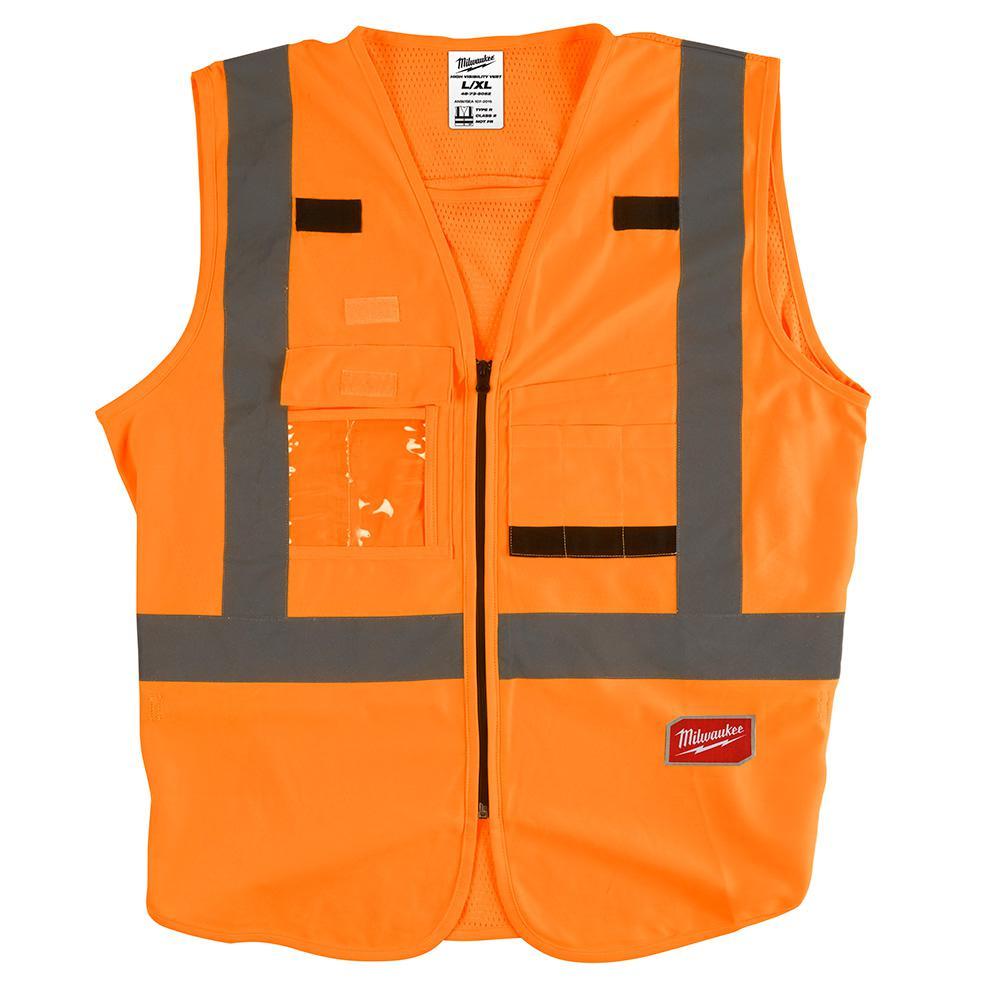 48-73-5032 L/XL O SAFETY VEST