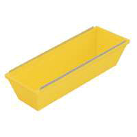MintCraft 150053L Drywall Mud Pan, 12 in L, Plastic, Yellow
