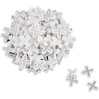 Mintcraft MJ-T808083L  Tile Spacers, Plastic, Cross Type, 5/16 Inch