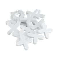 Mintcraft MJ-T80805 Tile Spacers, Plastic, Cross Type, 3/16 Inch