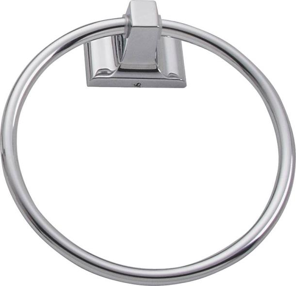 TOWEL RING FREEDOM BRT CHRM