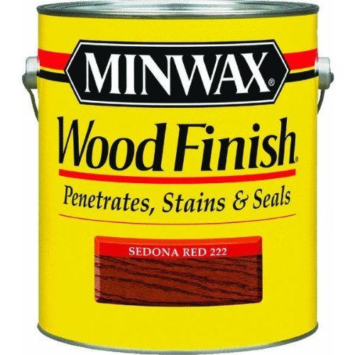 1 Gal. Wood Stain, Sedona Red