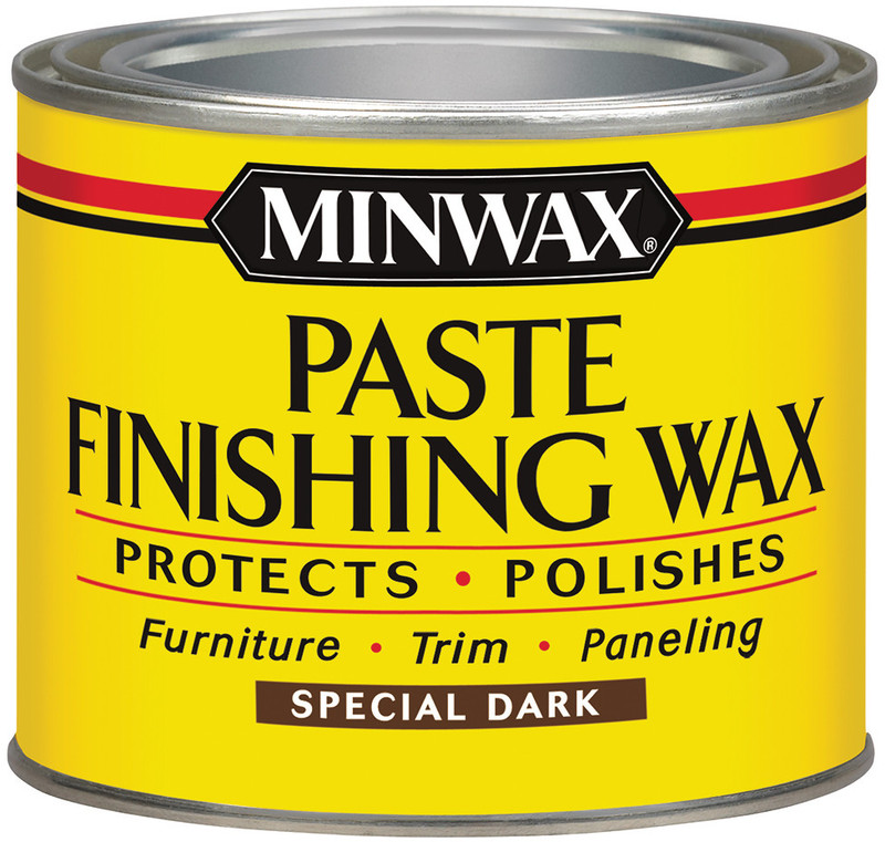78600 1 LB PASTE WAX (DARK WOOD)