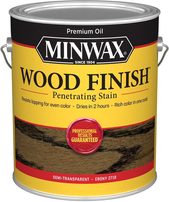 1 Gallon Ebony Wood Stain