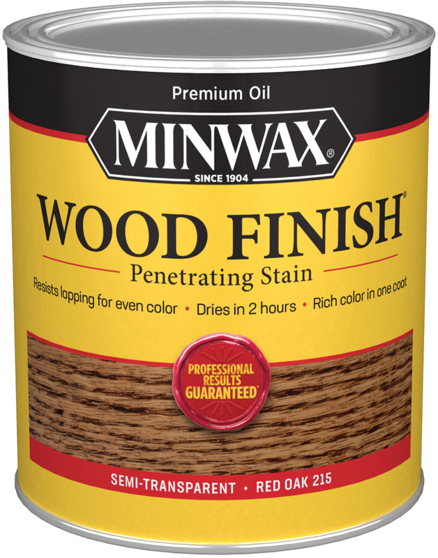 Quart Red Oak Wood Stain